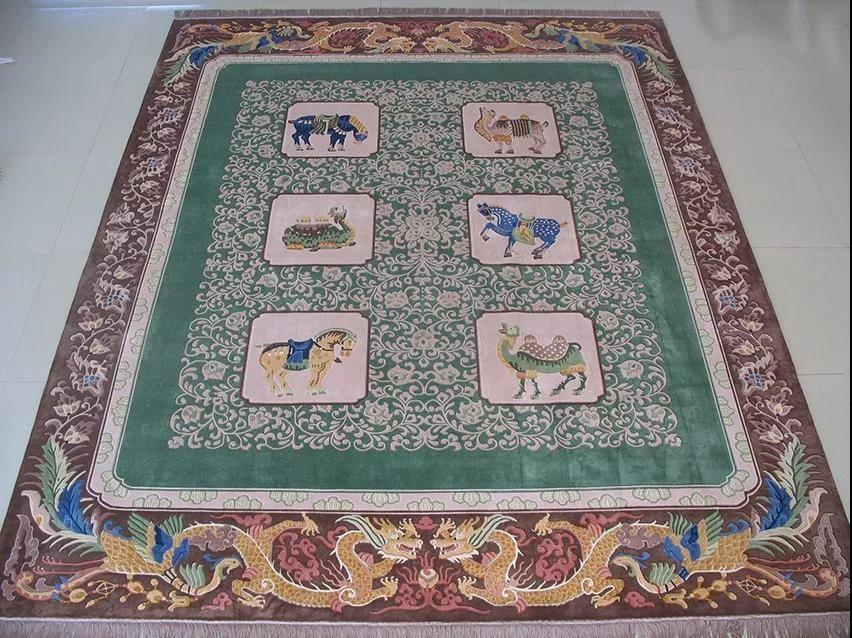 手工编织真丝地毯的设计与清洗消毒