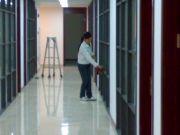 上海保洁公司谈谈梯子使用方法