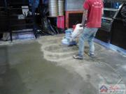 水泥油漆地面清洗 上海鹏发保洁服务公司